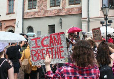 PHOTOS: Krakow Black Lives Matter march