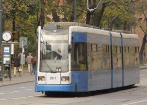 Trams Coming Off Their Tracks in Krakow