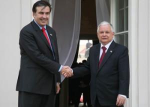 Georgian President in Warsaw