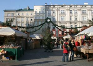Christmas Market Opens in Krakow