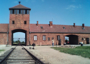 "Canadians Try to Take Auschwitz ""Mementos"""