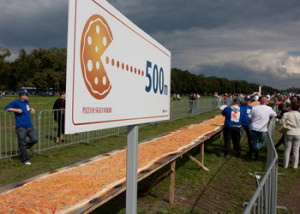 World-Record Pizza Created in Krakow