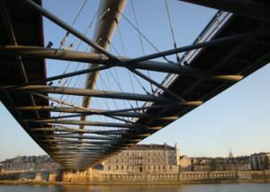 Krakow's New Pedestrian Bridge Opens